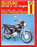 Haynes Manual for Suzuki GP100 & 125 Singles (78 - 93) Including an AA Microfibre Magic Mitt