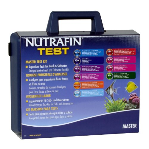 Nutrafin Master Test Kit, Contains 10 Test Parameters (Calcium Test Kit Fresh Water compare prices)