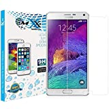 Note 4, Shatterproof Premium Tempered Glass Screen Protector - Hd Clarity. for Samsung Note 4 Only - Tempered Glass 9H. [1 Pack. Retail Packaging]