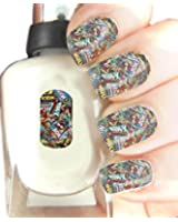 Easy to use, High Quality Nail Art For Every Occasion! Marvel Wrap