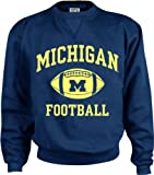 Michigan Wolverines Perennial Football Crewneck Sweatshirt