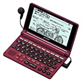 シャープ 音声コンテンツ搭載・タイプライターキー配列電子辞書 カシスレッド PW-AM700-R