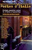 echange, troc Serge Quadruppani, Collectif - Portes d'Italie : Dix-huit nouvelles noires d'Italie