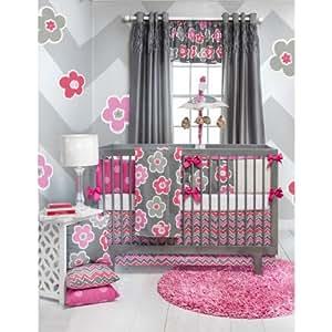 Amazon Com Addison 4 Piece Baby Crib Bedding Set With