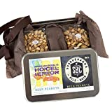 Edley Gourmet Nuts Gift Tin, 1 Pound Craft Beer-Infused Peanut Duo, Perfect as a Thank You Gift or for Any Occasion, Small-Batch Kettle Roasted For Superior Freshness, Nuts Never Tasted This Good