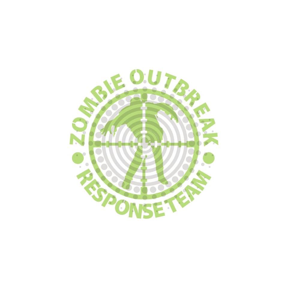 Zombies Outbreak Response Team Vinyl Decal