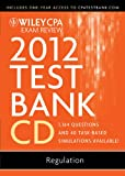 img - for Wiley CPA Exam Review 2012 Test Bank 1 Year Access, Regulation 1.1 book / textbook / text book