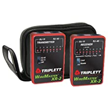 Triplett 3254 WireMaster XR-2 LAN Cable Test Set with Tracer Tone