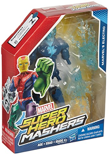 "Marvel Super Hero Mashers Electro 6"" Action Figure - 1"