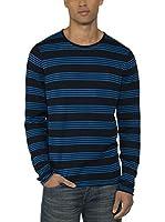 Bench Camiseta Manga Larga Adour (Azul)