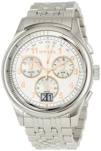 Invicta Men's 0418 Vintage Collection Reserve 7000 Chronograph Stainless Steel Watch