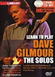 echange, troc Learn to play Dave Gilmour - The Solos  (2 DVDs) [Import anglais]