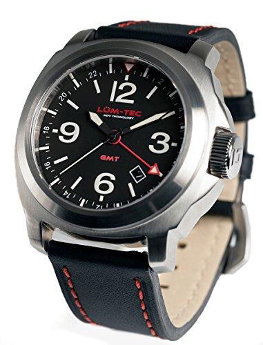 Lum-Tec M60 Luminous Swiss Quartz Men's Watch