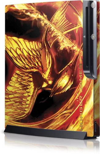 Skinit The Hunger Games Mockingjay Vinyl Skin for Sony Playstation 3 / PS3 Slim (4th Gen)(160/250GB)