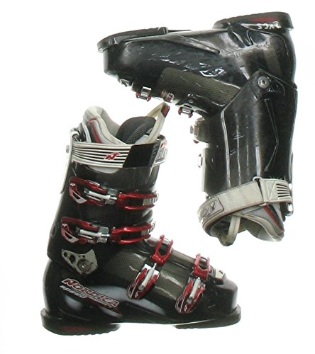 Used Nordica Speed Machine 110 Black Ski Boots Men`s Size 9.5 - Mondo 27.5