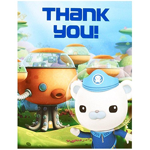 The Octonauts Thank-You Notes (8)