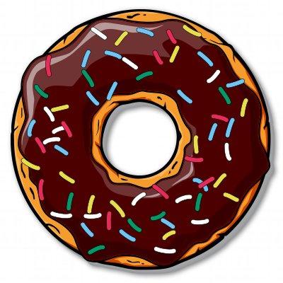 donut-food-funny-yum-vinyl-sticker-car-window-bumper-laptop-select-size