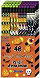 DesignWay Halloween Pencil, 48-Pack