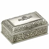 Mullingar Pewter Handcrafted Irish Claddagh Jewellery Box