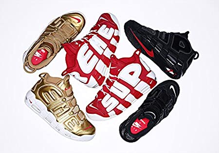 "Supreme x Nike Air More Uptempo "" Red White """