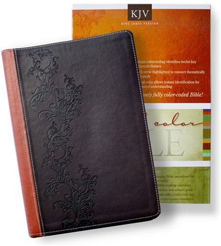 King James Version-DuoTone (Brown/Chestnut) (Standard Full Color Bible)