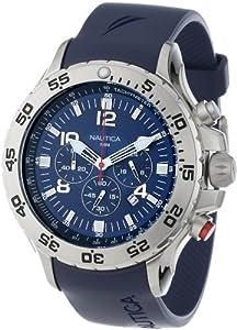 Nautica Men's N14555G NST Chronograph Watch