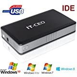 "L803B USB2 3.5"" IDE Hard Drive Enclosure USB 2.0 External HDD Caddy (NOT compatible with SATA HDD)by Allcam"