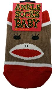 Baby Sock Monkey Socks