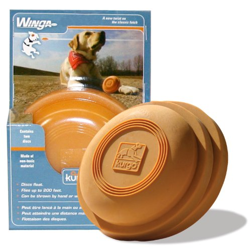 Kurgo Extra Discs for Winga Thrower Dog Toy, 2 Discs