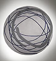 Scribble Circle Rug