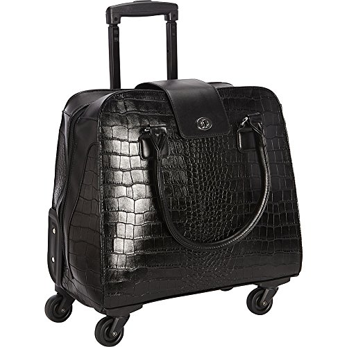 crocodile-rolling-carry-on-trolley-bag-wheeled-travel-work-and-weekend-tote