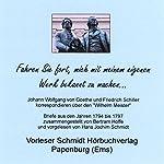 Fahren Sie fort, mich mit meinem eigenen Werk bekannt zu machen...: Johann Wolfgang von Goethe und Friedrich Schiller korrespondieren über den
