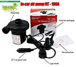 Catterpillar Stermay DC Electric Air Pump For Inflating / Deflating Sofa, Bed, Swimming Pool Tubes, Toys, Air Bags, Mattresses