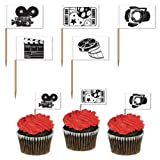 Movie Set Picks (asstd designs) Party Accessory  (1 count) (50/Pkg)