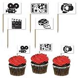 Movie Set Picks (asstd designs) Party Accessory  (1 count) (50/Pkg)