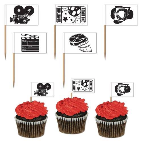 Movie Set Picks (asstd designs)    (50/Pkg)