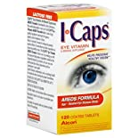 ICaps AREDS Formula, Coated Tablets, 120 tablets