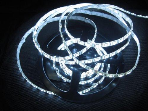 5M 300-Smd 5050 Led Strip Rope Light Waterproof-White (5500K-6000K)
