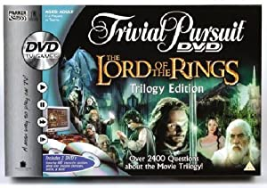 Lord of the Rings Trivial Pursuit - DVD Game