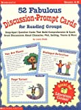50 Fabulous Discussion-Prompt Cards for Reading Groups (0439227224) by Robb, Laura