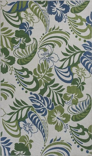 Serafina Floral Leaves Ivory 2'3' X 3'9' Kas Rug 2916 By Ruglots back-629789