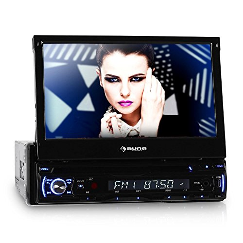 DTA90BT Bluetooth Autoradio  (18 cm (7 Zoll) Display, CD/DVD Player) schwarz