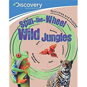 Discovery: Spin-The-Wheel Wild Jungles (Discovery Brown Paper & Wheel)