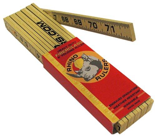 Rhino Rulers 55115 Oversize Brick Spacing Ruler