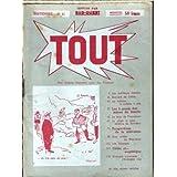 TOUT [No 41] du 31/12/2099 - BERNARD DE LATTRE - LA VOITURE A TURBINE A GAZ - LA MORT DE YAMAMOTO - LE SINGE LE...