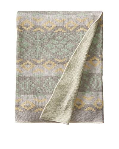 bambeco Recycled Cotton Throw/Blanket, Tan