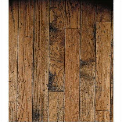 """Ellington Plank 3-1/4"""" Solid Red / White Oak in Honey"""