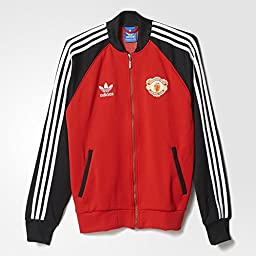 Adidas Mens Originals Manchester United Superstar Track Top Medium