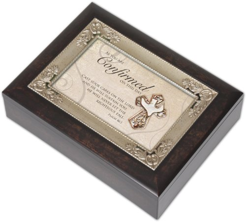cottage garden italian inspired inspirational music box confirmation plays amazing grace. Black Bedroom Furniture Sets. Home Design Ideas