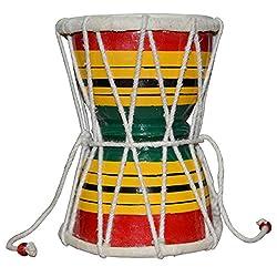 Damru Hand Percussion Handmade Indian Musical Instrument